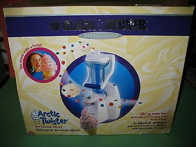 Black & Decker Arctic Twister Ice Cream Maker New In Box