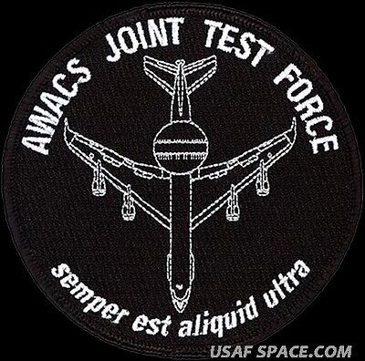 USAF 605th TEST SQ - AWACS JOINT TEST FORCE- Nellis AFB, NV - ORIGINAL PATCH