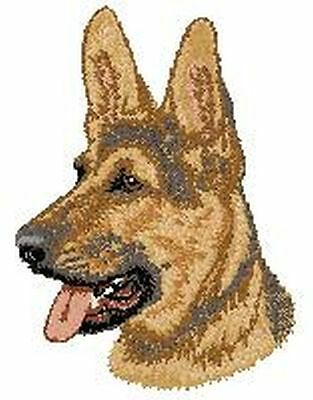 German Shepherd Dog Patches 2.9 Tall Or Embroidered Hat Embroidered