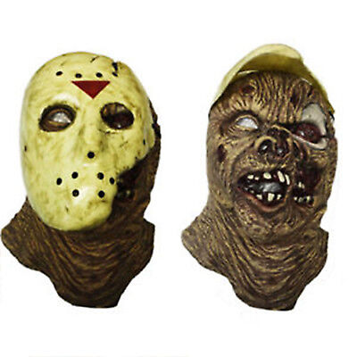 "Maschera di Jason Voorhees  modellata sul personaggio ""The New Blood"""