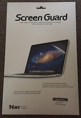 """Screen Guard Screen Protector For Apple Macbook 13.3"""" Pro Toch Bar Easy Fitting"""