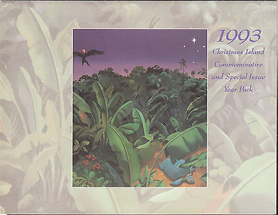 1993 Christmas Island - Commemorative and Special Issue Year Pack - Scarce !