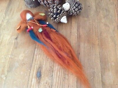 Autumnal Needle felted Fairy Queen, really beautiful, handcrafted by me