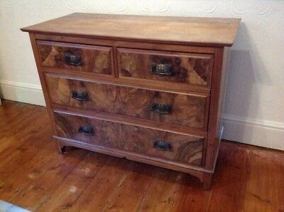 Art Nouveau Satinwood Chest Of Drawers