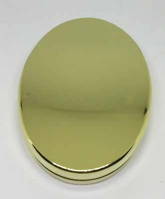 514f7d397a2 CAP OR PILL Box in Brass Copper German Silver - Plain or Inscribed ...