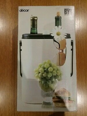 Retro Decor BYO with Wine Chiller  NEW - NEVER BEEN USED - DARK BROWN