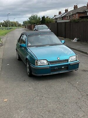 Mk2 astra convertible exclusive not GTE spares repairs barn find salvage