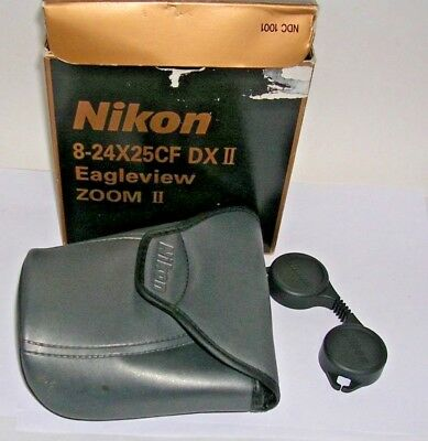 EMPTY Box + Carrying Case + Lens Cap for Nikon Eagleview Zoom II Binoculars