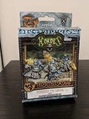 Hordes - Trollbloods Northkin Fire Eaters Unit (New in Box)