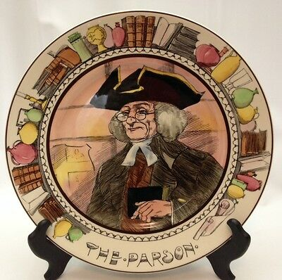 Royal Doulton THE PARSON Collector Plate D6280