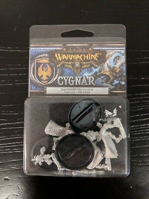 Warmachine - Cygnar Stormsmith Stormcaller Solos (3) (New in Box)