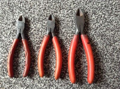 snap on side cutters