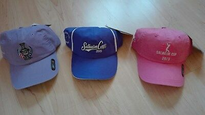 Solheim Cup 2015 3 Damen Caps Golf NEU!