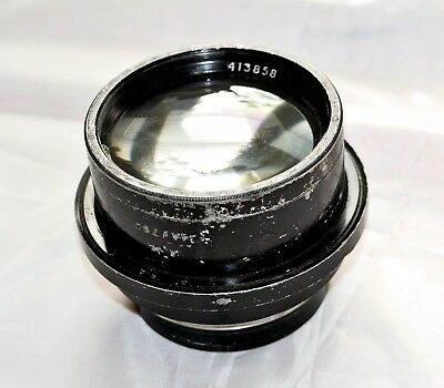 "VINTAGE LENS 8"" f/2.9 Possibly by 'ROSS of London'"