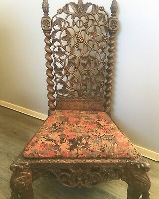 19th century Anglo-Indian Nursery Chair