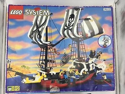 Rare Lego Set 6289 Red Beard Runner Pirate Ship Instructions Manual