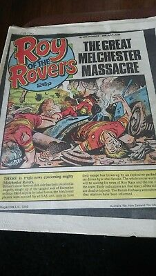 Roy of the Rovers - 19/07/1986