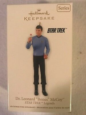 Dr. Leonard Bones Mccoy Hallmark Keepsake Ornament #3 Star Trek Legends 2012