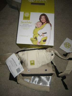 Lille Baby SeatMe baby carrier---- NEW- Sand color