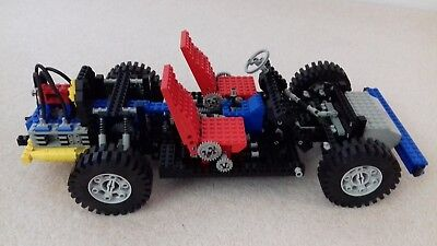 Vintage Lego Technic 8860 Auto Car Chassis Released 1980