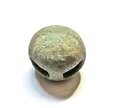 Ancient Celtic Bronze Button.
