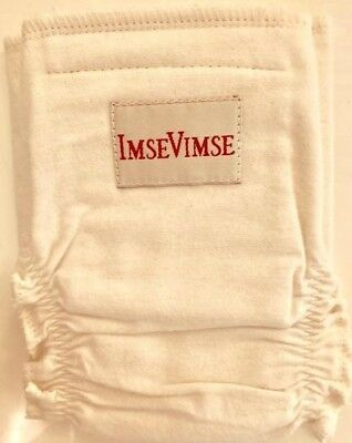 NWOT ImseVimse 100% Organic Cloth Diaper Cover Natural Color