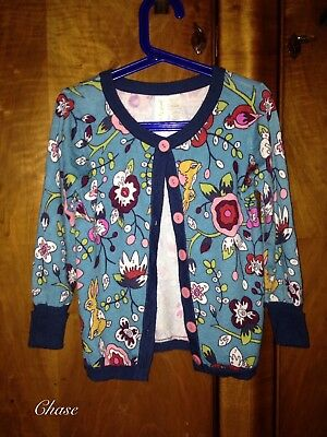 Matilda Jane Paint By Numbers Central Park Cardigan sz 4