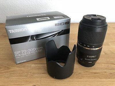 Tamron SP A005 70-300 mm F4.0-5.6 SP VC Di USD in sehr gutem Zustand mit OVP