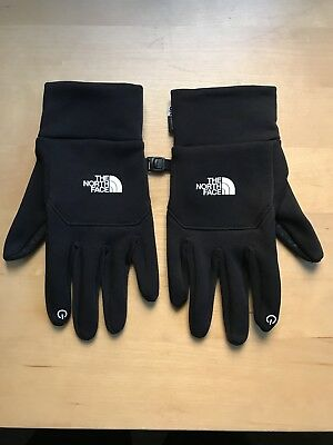 The North Face E-tip Touch Screen Gloves Black Size Medium M