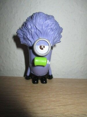 Mc Donalds Happy Meal  Figur 2013 Minions   Purple Babber mit Pfeiffe