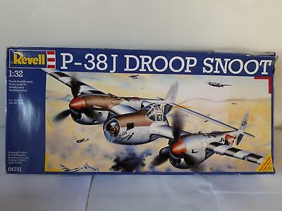 Revell 04791 Lockheed P-38 J Droop Snoot USAAF US Air Force Leading Bomber 1:32
