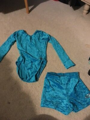 Leotard  And Shorts 28inch Age 6-7