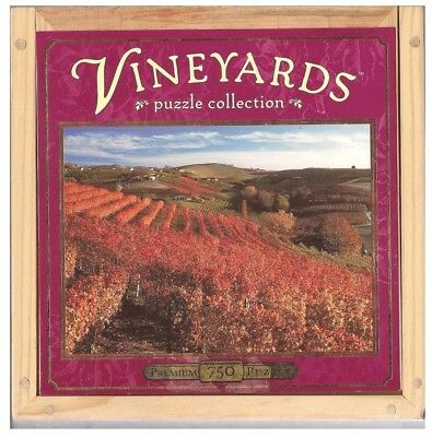 Vineyards Puzzle Collection: A Taste of Italy; 750 Piece Puzzle in Wooden Case