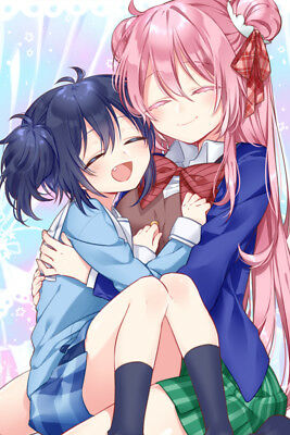 "Happy Sugar Life Shio Sato 36"" x 24"" Large Wall Poster Print Anime"