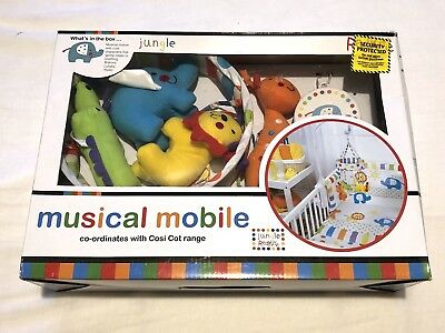 Redkite Jungle baby musical mobile with soothing music - brand new