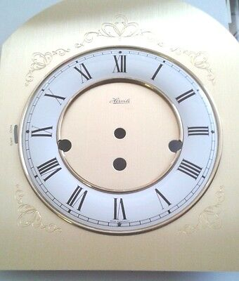 Hermle clock dial for 341 movement  180x190x230 solid brass