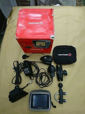 TomTom RIDER 2nd Edition - Motorcycle Sat Nav