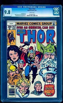 Thor 262 Cgc 9.8 ** White Pages ** Highest Graded Copy * Only One On Ebay