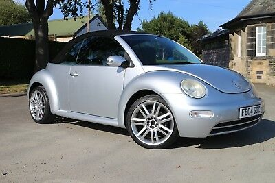 Vw Beetle Convertible Cabriolet Ltd Edition 1.6 5 Speed Mot June 19 *no Reserve*