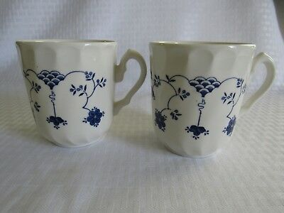 Set of 2 Churchill Myott FINLANDIA  Staffordshire Mugs 3 3/4""