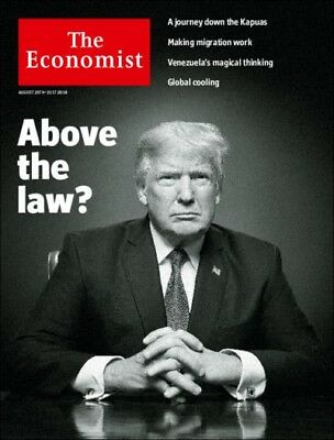 The Economist August 25th - 31st 2018 Above The Law?