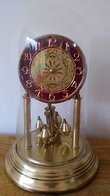 Vintage Anniversary Clock with Dome