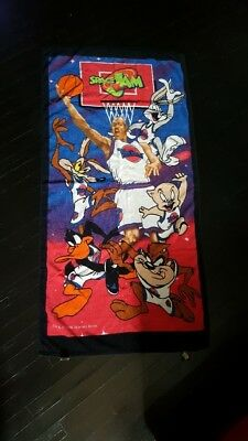 Vintage 1996 Space Jam Warner Bros. Jordan Bath Towel