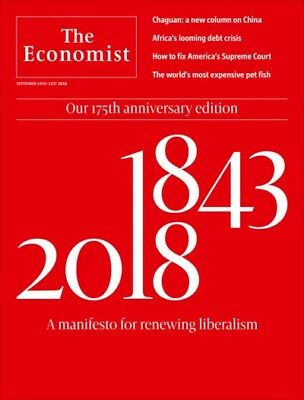 The Economist 15th - 21th September 2018 A Manifesto For Renewing Liberalism