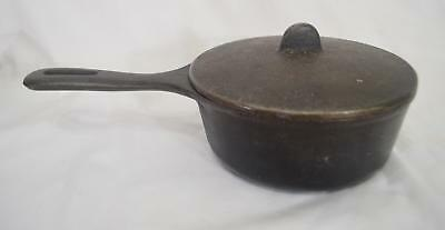 Vintage Wagner Ware ~ Made in USA ~ 6 inch Pot with lid ~ Antique ~ Skillet