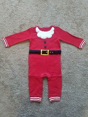8b605868f GYMBOREE SANTA OUTFIT North Pole baby boy or girl one piece 12-18 ...