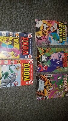 Doom Patrol Silver Age And Bronze Age Comic Book Lots