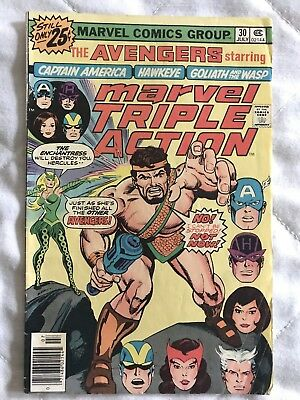 Marvel Triple Action Comic Book #30