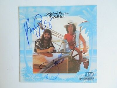 Signed Autograph CD Booklet Kenny Loggins & Jim Messina - Full Sail