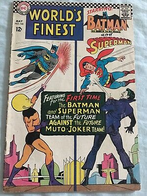 World's Finest Comics #166 Featuring Batman and Superman